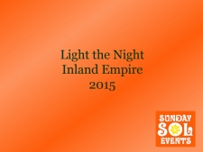 light the night ie 2015